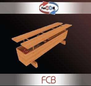 Внутрипольный конвектор FanCOil FCB