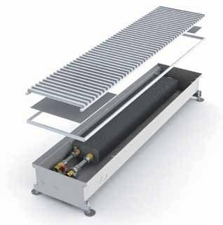 Внутрипольный конвектор Minib Coil P 243.2000.125