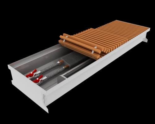 Внутрипольный конвектор повышенной мощности Fancoil FCFA
