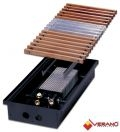 Внутрипольный конвектор VERANO VP: Ширина 410 мм. Глубина 110 мм.