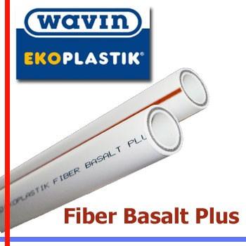 WAVIN ECOPlastik труба ekoplastik fiber basalt plus диаметр 20