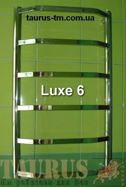 Водный полотенцесушитель Luxe 6 / 500 мм. Высота 650 мм. Комплектация электротэном. Гарантия на тэн 1 год.