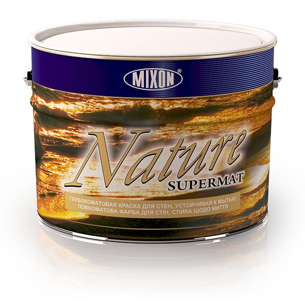 Фото 1 Интерьерная акриловая краска Mixon Nature Supermat, 10 л 303370