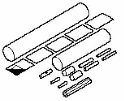 Водонепроницаемый набор для соединения с силовым кабелем и концевой заделкой