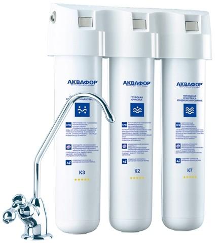 Фильтр для питьевой воды Аквафор Кристалл