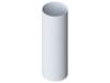 Водосточная труба 95(Белая)3м.