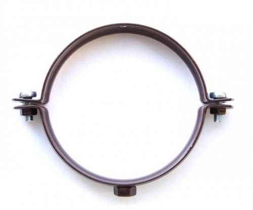 Водосточный хомут D100 (белый RAL 9003, коричневый RAL 8017)