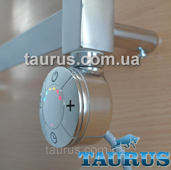 Фото  1 ЭлектроТЭН Smart chrome Selmo с регулятором, таймером в 3 режима, хром. Цветная LED подсветка. Производство Италия 1888492
