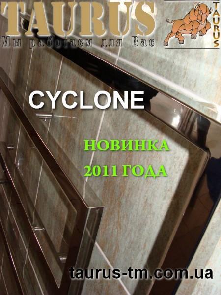 Водяной сушитель для полотенец Cyclone 11/1300. Изготовлен из нержавеющей стали. Покраска в любой интересующий цвет.