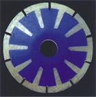 Вогнутый отрезной диск HSCC - 115, гранит, мрамор