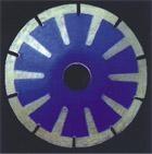 Вогнутый отрезной диск HSCC - 125, гранит, мрамор