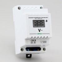 Вольтметр цифровой в корпусе для крепления на DIN-рейку ВМ-220/D1 (100-400В)