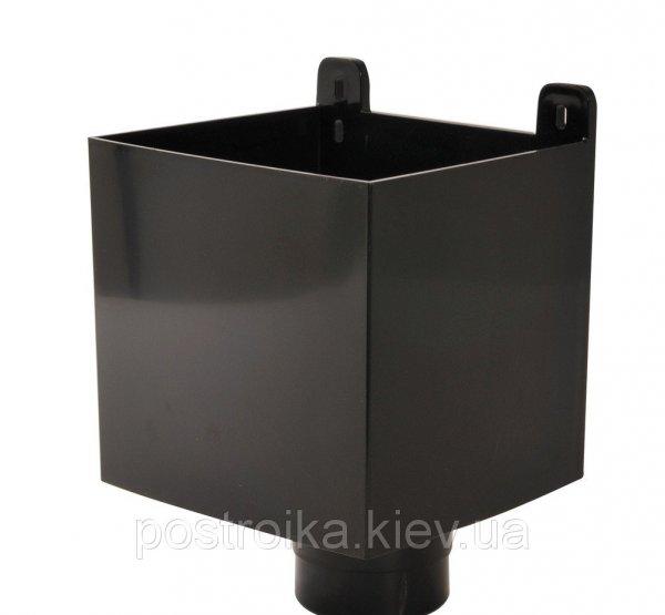 Фото  1 Воронка ливне приемная темно-серый черный 1757084