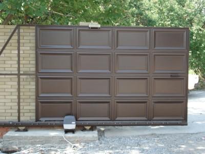 Ворота автоматические, монтаж и установка промышленных ворот.