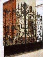 ворота дворовые, м. кв., от