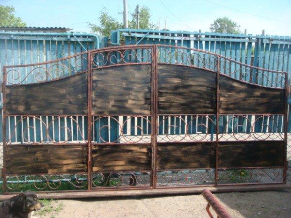 Фото 1 Ворота ГОТОВІ ковані. ворота готовые кованые. 336338