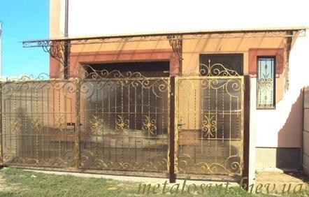 ворота Киев и обл. ковка