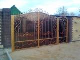 Ворота кованные, беседки, навесы, решетки, заборы