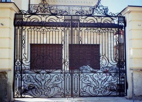 Ворота кованные в Одессе