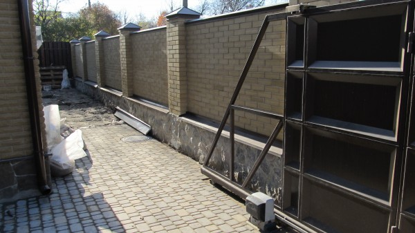 Ворота откатные+автоматика(4000*2000 мм)