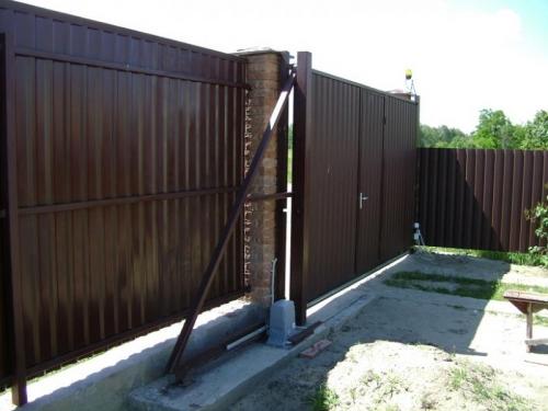 Ворота под заказ, качественно, недорого, гарантия 1 год!