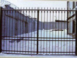 ворота распашные, м. кв. , от