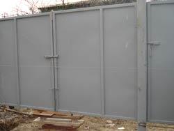 Ворота распашные профильные, продажа и установка.