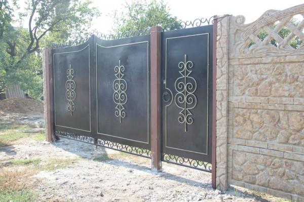 ворота распвшные