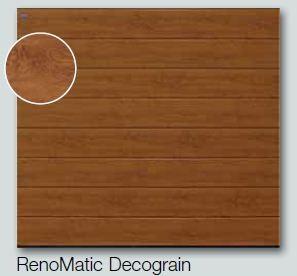 Ворота секционные гаражные Hormann RenoMatic decograin 2500х2250