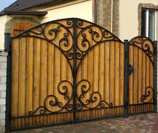 Фото 4 Кованые элементы для ворот 342779