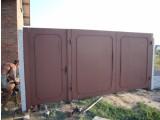 Ворота сварные с элементами ковки