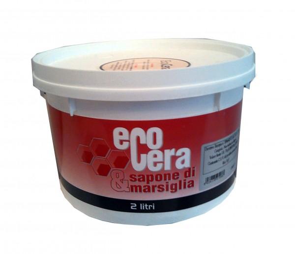 Воск для венецианки Ecocera. Расход: 30м2/л.