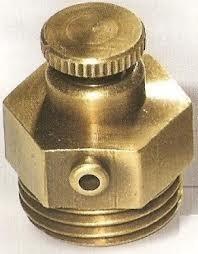 Воздухоотводчик ручной Carlo Poletti Retro, «бронза», присоединительный размер — 1/2 дюйма.