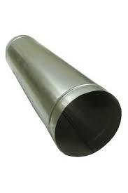 Воздуховод круглый Д=125 мм из оцинкованной стали толщиной 0,5 мм