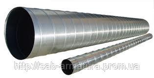Воздуховод круглый (толщина металла 0,55мм, длина 2/п)
