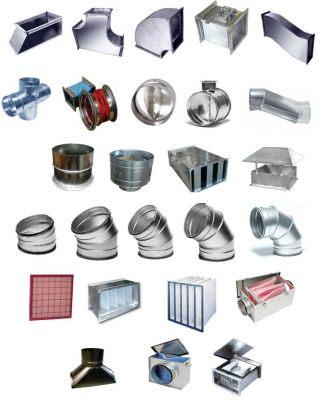 Воздуховоды из алюмоцинка. Изготовление и монтаж вентиляционных систем