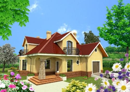 Всі наші проекти котеджів та особняків Ви можете придбати лише за 600 євро!