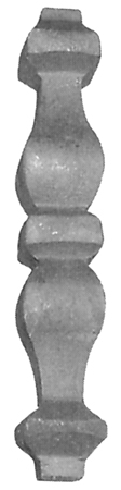 Вставка 41.401 (12 х 12 [мм]; 140 х 26 [мм])