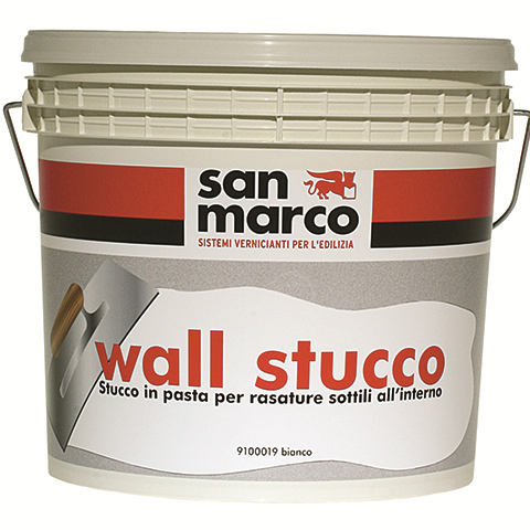 Wall Stucco (Италия) для создания рельефа тончайшего слоя. Белая