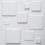 WallArt 3d панели для стен - Квадраты