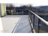 Фото 6 Перила для балкона с поручнем из нержавеющей стали и стекла 339322