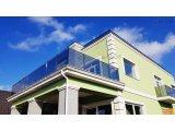 Фото 8 Перила для балкона з поручнем з нержавіючої сталі і скла 339322