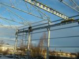 Каркас производственного помещения 18*60*7 с кран балкою 3,2 тонны, и монтажом
