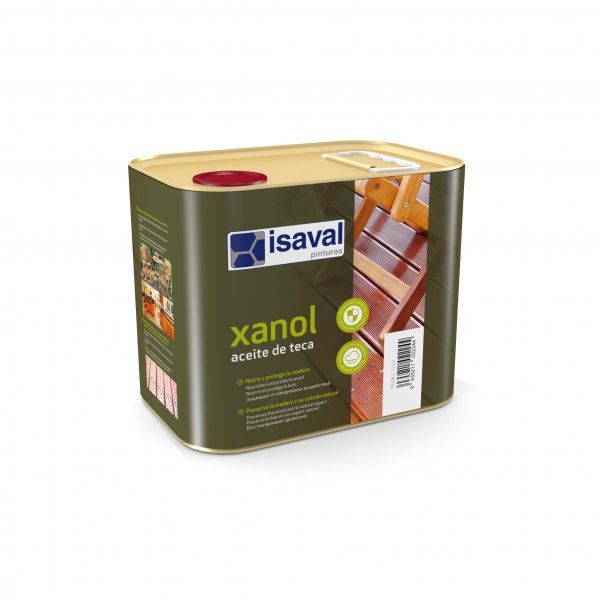 Фото  1 Защитное масло для деревянных поверхностей КСАНОЛ МАСЛО ТЕКА, цвет медовый 2,5л до 17,5м2 2081824