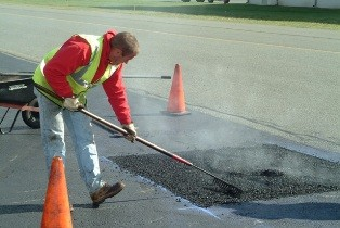 Ямочный ремонт асфальтобетонного покрытия до 25 м2