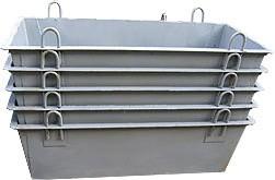 Ящик строительный растворный 0,2 м/ 0,3 м3 /1,0 м / 1,5 м / 2,5 м 800 / 1000 / 4500 / 6000 / 9500