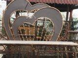 Фото 3 Скамейка кованая на кладбище . Лавочка на дачу. 336331