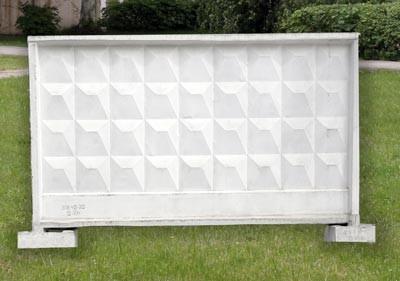 Панели ограды: ЗП 400-2, ЗП 400-8, ЗП-250.
