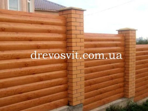Блок хаус (деревина-сосна). Для зовнішніх і внутрішніх робіт. Розміри 125*35*4500мм. Доставка на Вашу адресу.