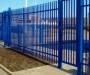 Забор из металлопрофиля, сварные заборы